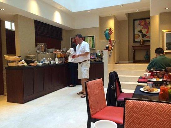 Best Western Plus Hotel Sydney Opera: Breakfast area
