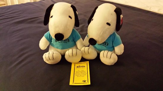 Plush Snoopy Toy For Every Night You Stay Picture Of Knott S