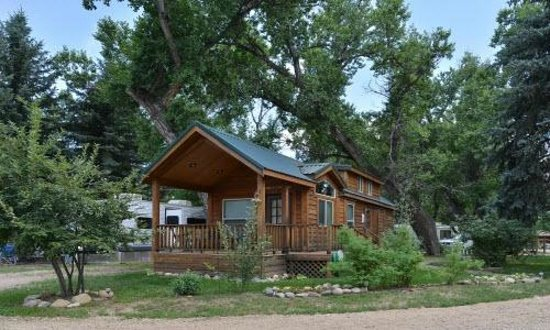 Cruise inn riverview rv park loveland co campground for Loveland co cabin rentals