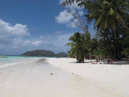 Le Duc de Praslin: la plage