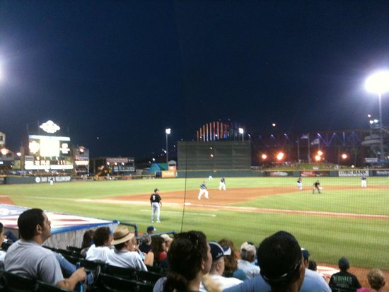 Whataburger Field: The Hooks play ball!