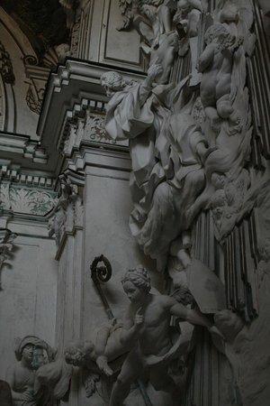 Abbazia di Santo Spirito: Un particolare degli stucchi