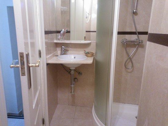 Hostal Plaza Mayor: baño cómodo