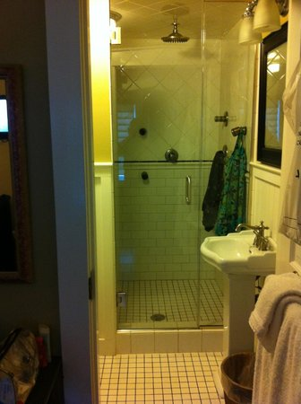 Gazebo Inn Ogunquit : The shower is also a steam room!
