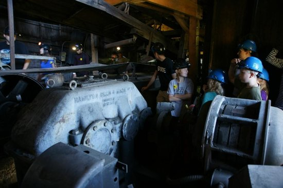 Atlas Coal Mine National Historic Site: Coal conveyor motor