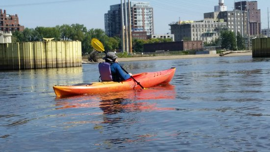 Above the Falls Sports: Rowing on the river