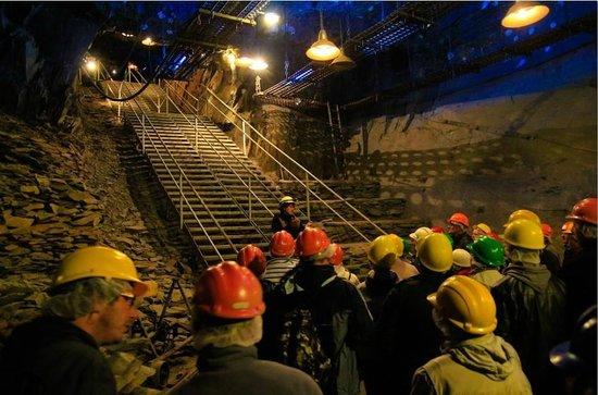 La Mine Bleue : impressionnante chambre 4