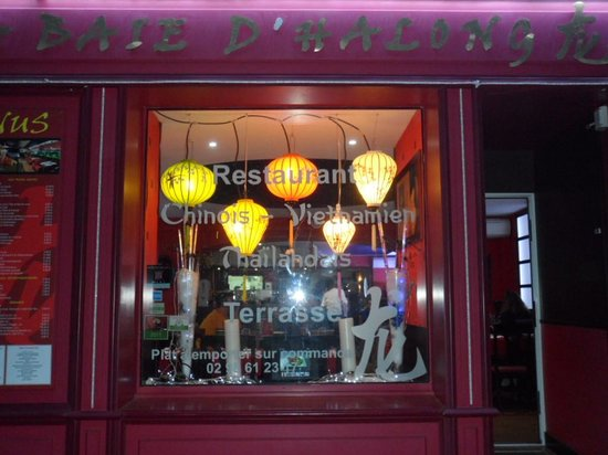 Restaurant La Baie d' Halong : from the outside