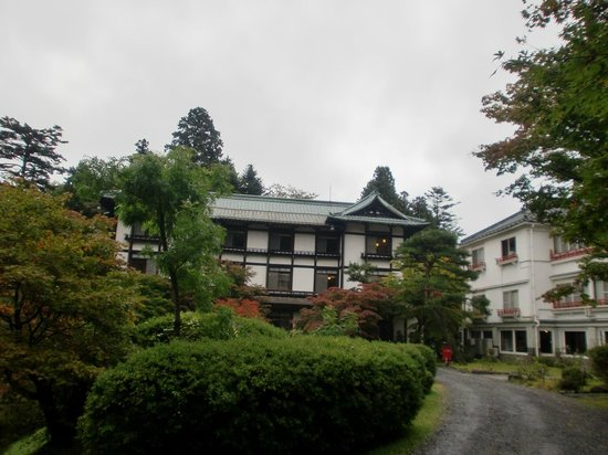 Nikko Kanaya Hotel: 中庭から見たホテル