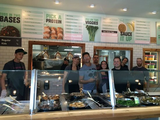Some of our team members. - Picture of Fresh Kitchen, Tampa ...