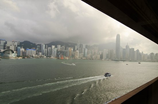 InterContinental Hong Kong: Victoria Harbour in the Morning
