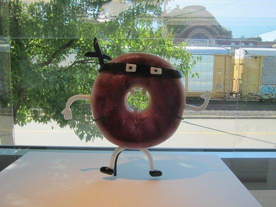 Museum of Glass: Ceramic Doughnut--Kid's Piece