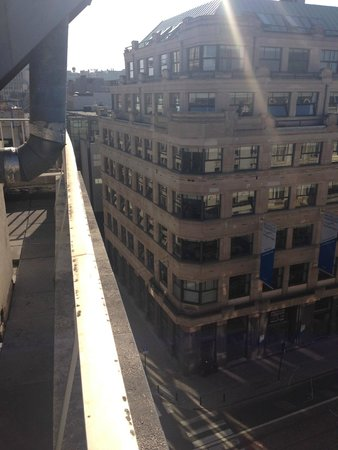BEST WESTERN Hotel Royal Centre : Вид с балкона из номера 707