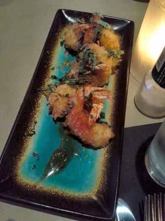 Bonefish Grill : Coconut Shrimp Appetizer