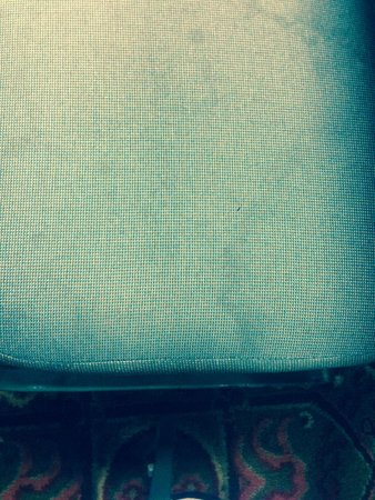 Hampton Inn Greenville / Travelers Rest: Nasty and stained breakfast chairs