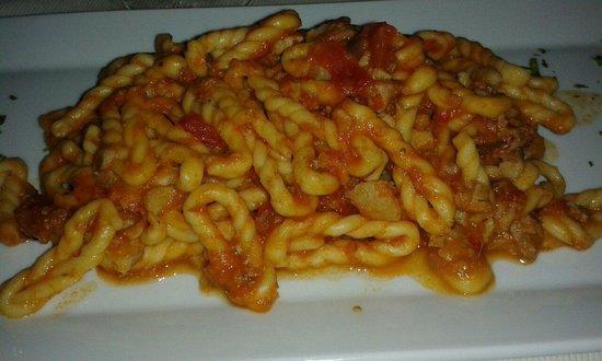 Arcada Villasimius: Pasta sarda