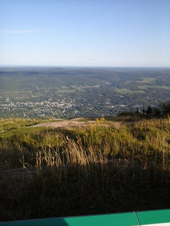 Mount Greylock State Reservation: View of Adams