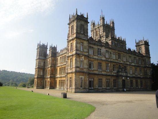 Highclere Castle: Just like the start of the series opener