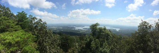 Cherokee Rock Village : View toward Weiss Lake