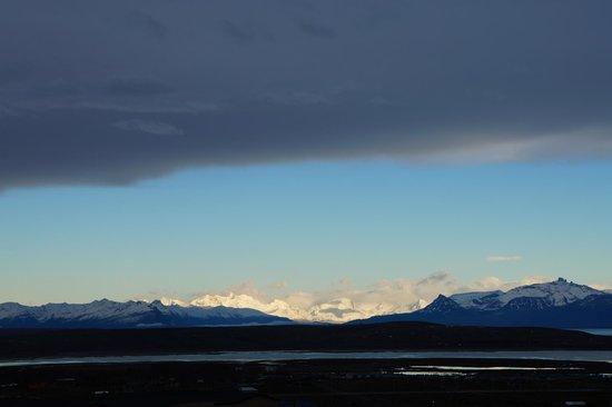 Alto Calafate Hotel Patagonico: Vista desde el hotel