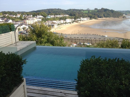 St Brides Spa Hotel : Pool with a view