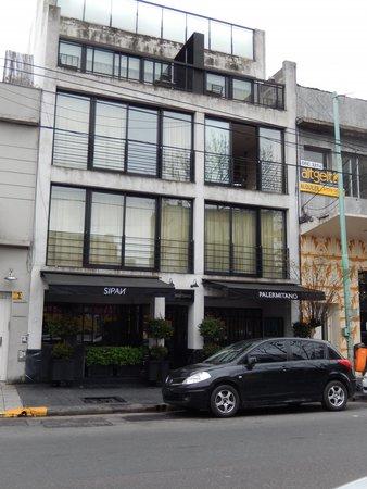 Palermitano Hotel: Frente do Hotel