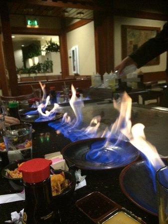 Sakura Sushi & Teppanyaki: Fire!