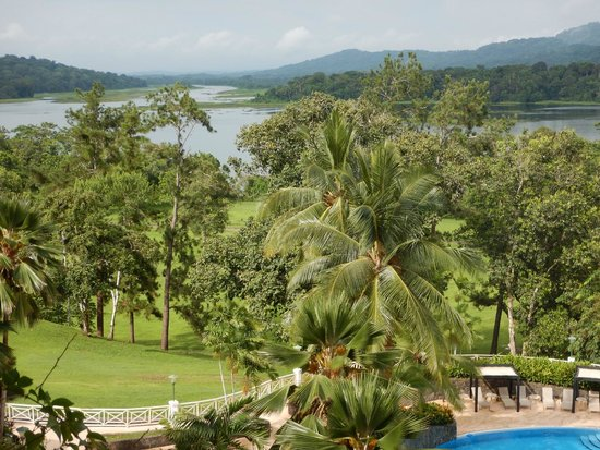 Gamboa Rainforest Resort: View from our room, 3rd floor