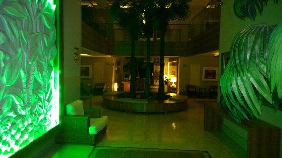 Ambassador Plaza Hotel : Hol w hotelu