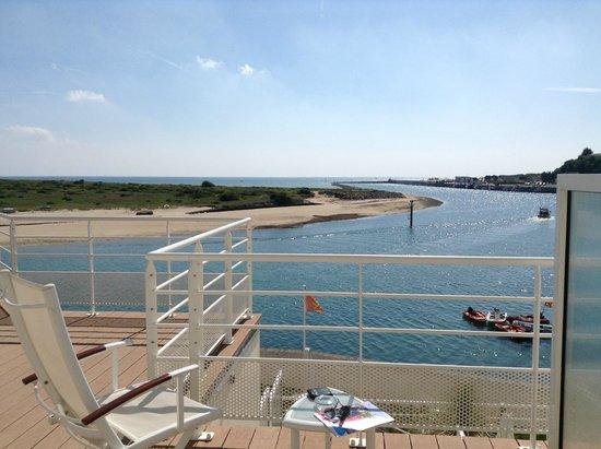Hotel de la Marine: Aussicht