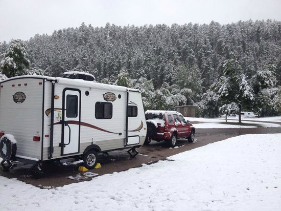 Custer State Park Campgrounds: Site 10