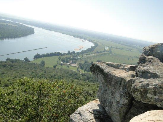 Petit Jean State Park: Mountain view