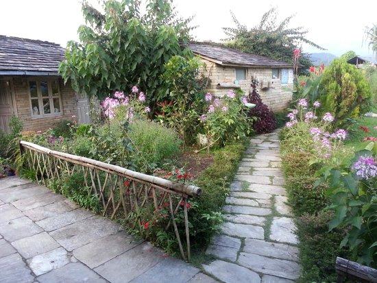 Annapurna Eco-Village: path