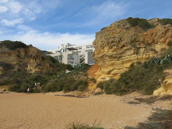 Hotel Alisios: Blick vom Strand
