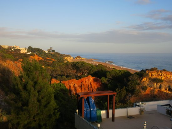 Hotel Alisios: Aussicht von der Terrasse