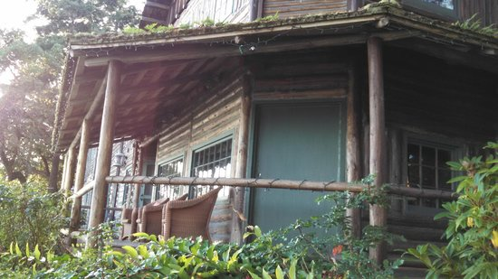 The Captain Whidbey Inn: Historic Multi-Level Log Structure