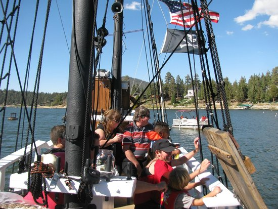 Pirate Ship Tours : On Board
