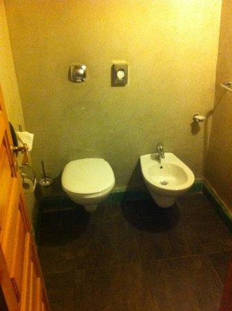 Hotel Les Jardins de l'Agdal : WC séparés