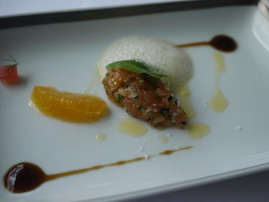 Restaurante Eleven: Salmon tartar