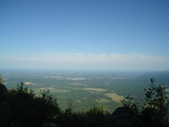Fort Mountain State Park: The VIEW!