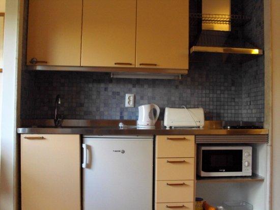 Aparthotel Oceanus: cozinha