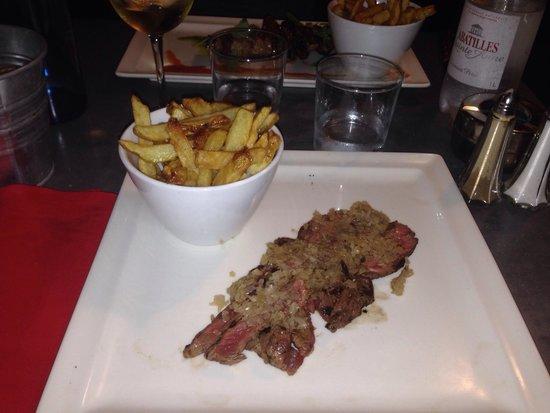 K2 Restaurant : Pièce de bœuf tranchée
