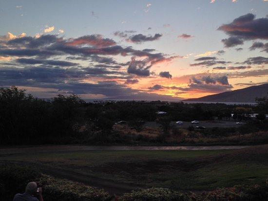 Kono's on the Green : 夕陽を眺めながらのディナーも最高