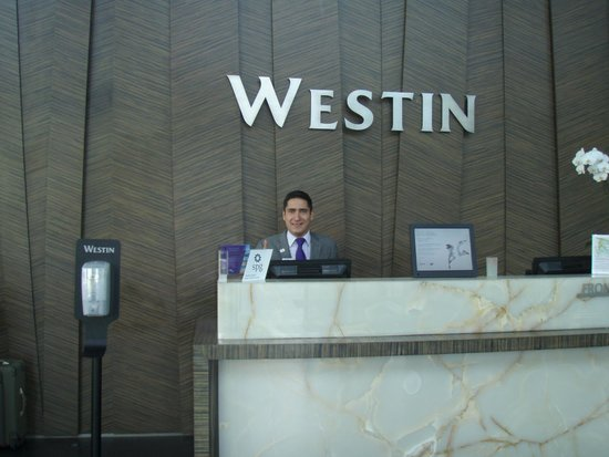 The Westin Santa Fe Mexico City: Ricardo Castro, Front Office Manager Assistant