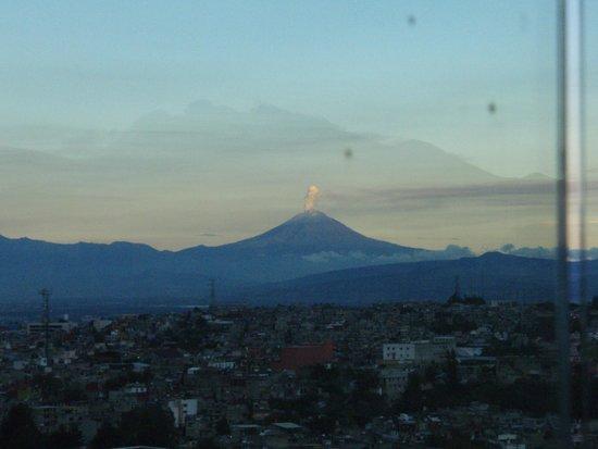 The Westin Santa Fe Mexico City: Last minutes of daylight on Popocatepetl volcano - the view from El-Even