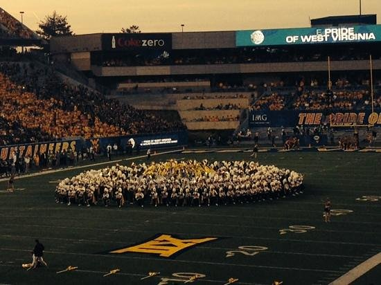 Mountaineer Field: WVU Band
