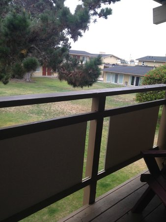 Silver Surf Motel: view from room 224