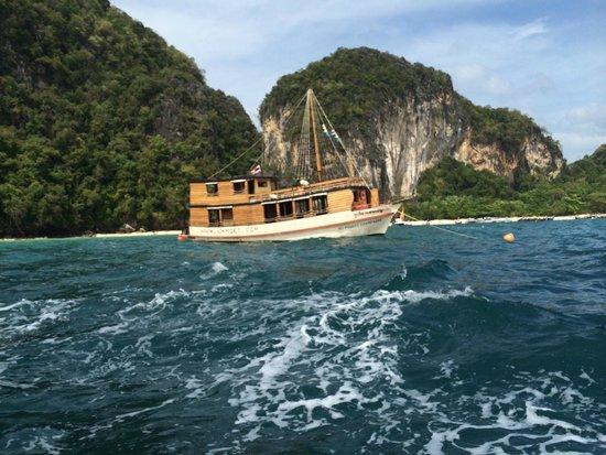 La Moet Phuket: champagne