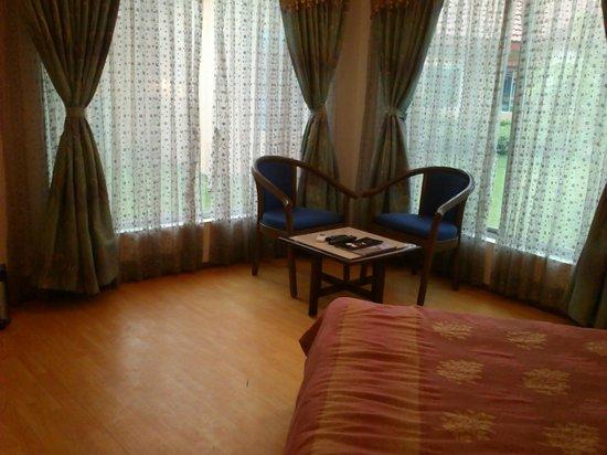 The Crescent Resort & Club : Sitting area
