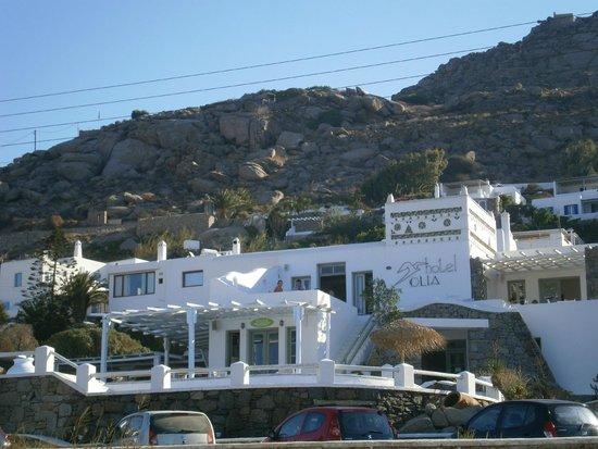 Olia Hotel: Aussenansicht